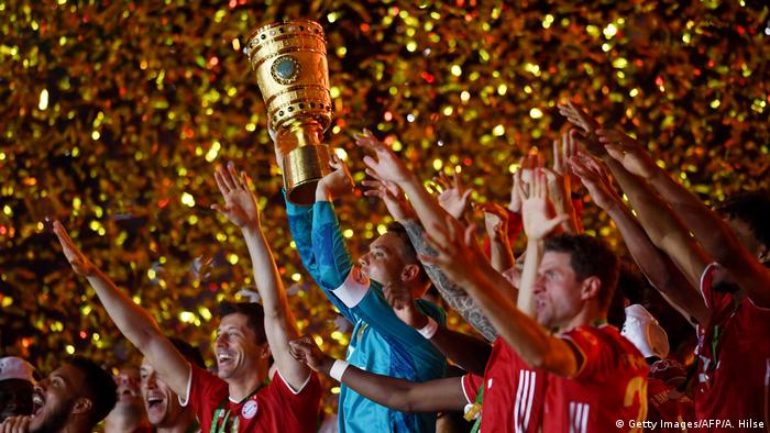 DFB Pokal Finale I Bayer Leverkusen I Bayern (Getty Images/AFP/A. Hilse)