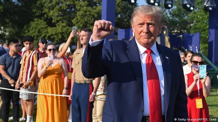 USA, Washington I Donald Trump I Salute to America (Getty Images/AFP/S. Loeb)