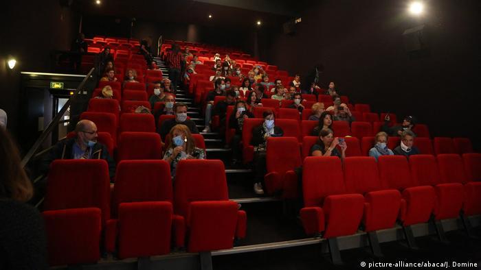 Frankreich Paris Kinos öffnen wieder