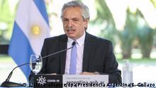 Alberto Fernandez, Präsident von Argentinien