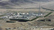 Natanz'daki nükleer tesis