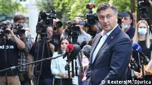 Parlamentswahlen in Kroatien I Andrej Plenkovic