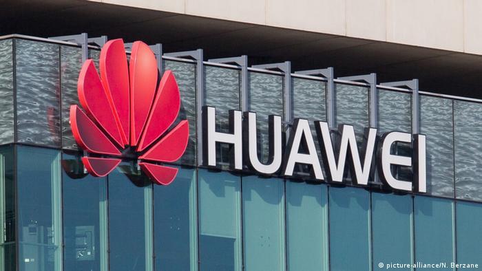 Frankreich I Huawei Hauptsitz in Paris (picture-alliance/N. Berzane)