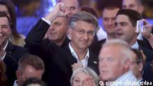 Wahlen in Kroatien I Andrej Plenkovic