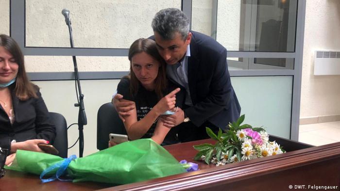 A Russian court on Monday found journalist Svetlana Prokopyeva guilty
