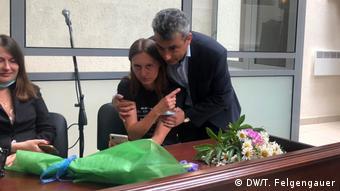Светлана Прокопьева на вынесении приговора