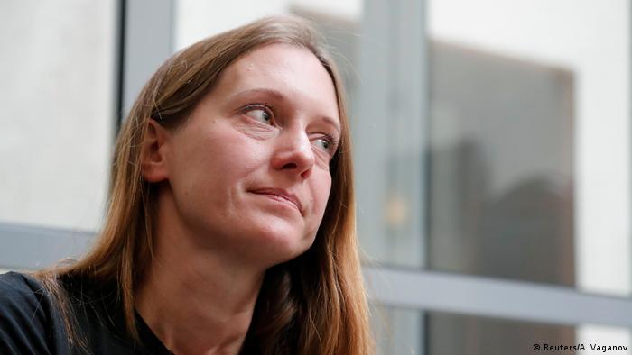 Russland Gerichtsverhandlung Journalistin Swetlana Prokopjewa