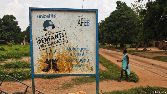 Zentralafrikanische Republik Kindersoldaten (Jack Losh)