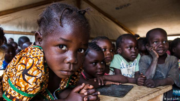 children in the Central African Republic (Jack Losh)
