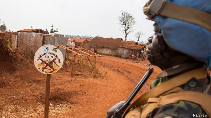 Zentralafrikanische Republik UN Blauhelm Soldat (Jack Losh)