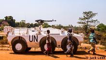 Zentralafrikanische Republik UN-Blauhelme
