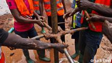 Zentralafrikanische Republik Brunnen Bangui