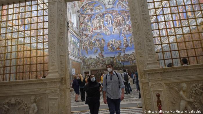 Italien | Coronavirus | Kunst | Ausstellung | Sixtinische Kapelle