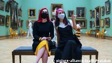 Russland | Coronavirus | Kunst | Ausstellung | New Tretyakov Gallery