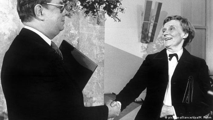 В 1978 году шведской писательнице Астрид Линдгрен во Франкфурте-на-Майне вручили Премию мира немецких книготорговцев