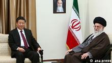 Iran China Xi Jinping Ali Khamenei