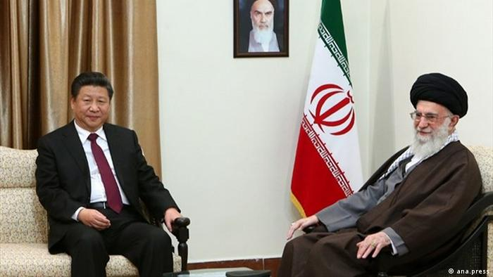 Iran China Xi Jinping Ali Khamenei (ana.press)