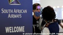 A جنوب أفريقيا قامت بإعادة فتح مجالها الجوي أمام الطيران بعد ستة أشهر من الإغلاق.