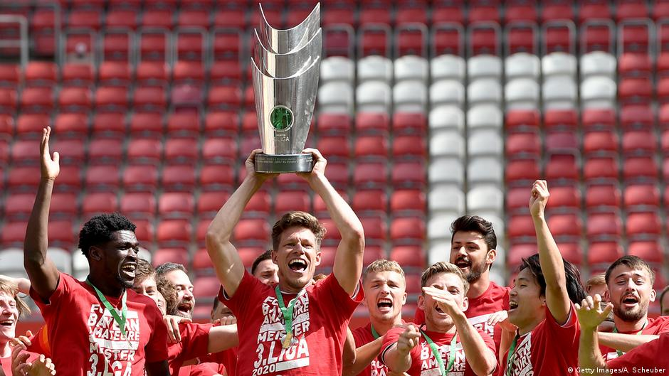 Bayern Munich on course for quadruple after reserves win third division | DW | 06.07.2020