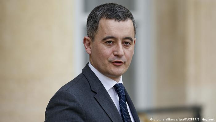 Frankreichs Innenminister Gérald Darmanin (picture-alliance/dpa/MAXPPP/S. Muylaert)