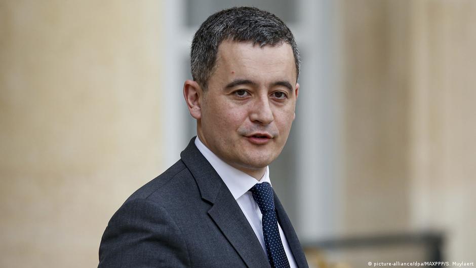 Frankreich Minister für öffentliche Aktion und Rechnungslegung Gerald Darmanin