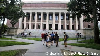 USA Gebäude Harvard University