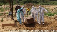 Indien Coronavirus Delhi | Friedhof