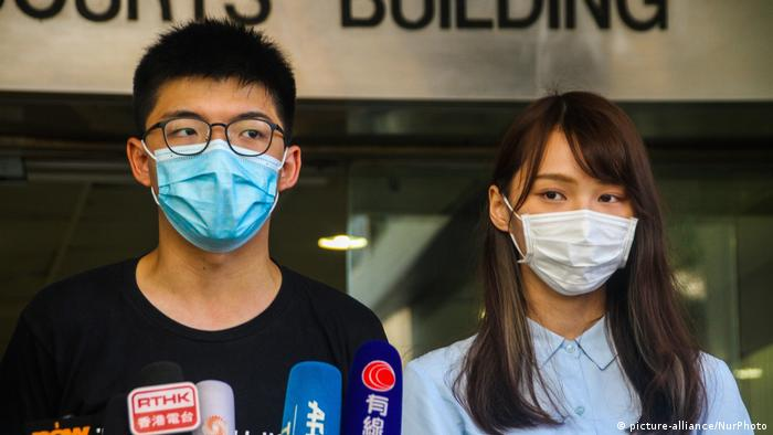 Hongkong Sicherheitsgesetz Proteste (picture-alliance/NurPhoto)