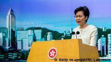 Hongkong Sicherheitsgesetz Carrie Lam