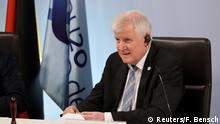 Deutschland Bundesinnenminister Horst Seehofer EU-Ratspräsidentschaft Berlin Treffen europäische Justiz- und Innenminister