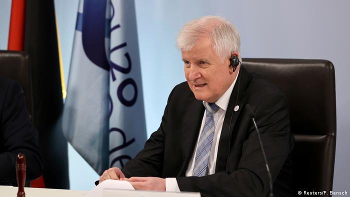 وزير الداخلية الألماني في مؤتمر عبر الفيديو مع نظرائه الأوروبيين