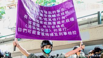 China Hong Kong | Proteste | Sicherheitsgesetz