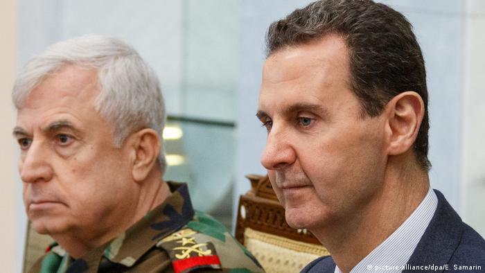 Syrien Damaskus | Humanitäre Hilfe | Russland (picture-alliance/dpa/E. Samarin)