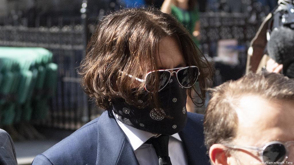 Johnny Depp Arrives At London Court For Sun Libel Lawsuit News Dw 07 07 2020