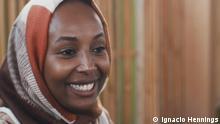 Die Rückkehrerin Khadra Ali in Somaliland l.
