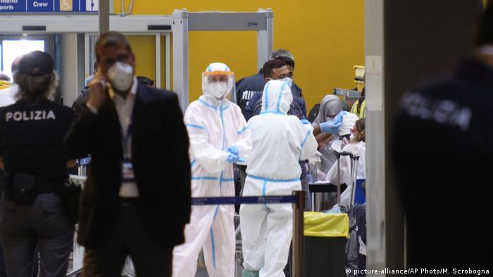 Italien Corona-Pandemie | Flugverkehr nach Bangladesch unterbrochen