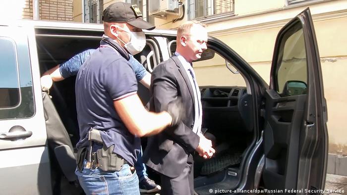 Заарештований російський ексжурналіст Іван Сафронов