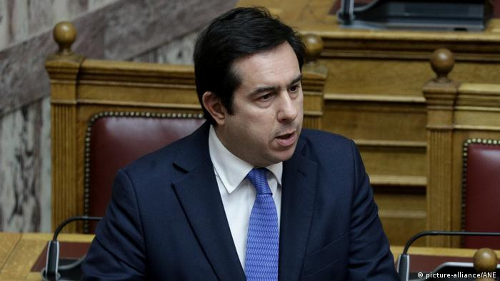 Yunanistan Göç ve İltica Bakanı Notis Mitarakis