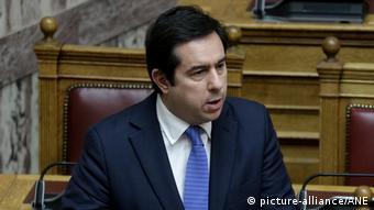 Yunanistan Göç Bakanı Nitos Mitarakis