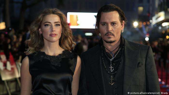 Johnny Depp und Amber Heard (picture-alliance/empics/J. Brady)
