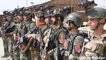 Afghanistan Ghazni | Soldaten | Sicherheitsvorkehrungen (DW/E. Mahdavi)