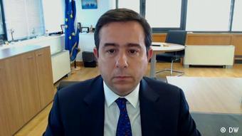 Griechenland   Interview Migrationsminister   Notis Mitarachi