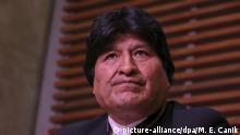 Argentinien Buenos Aires | ehemaliger Präsident Bolivien | Evo Morales