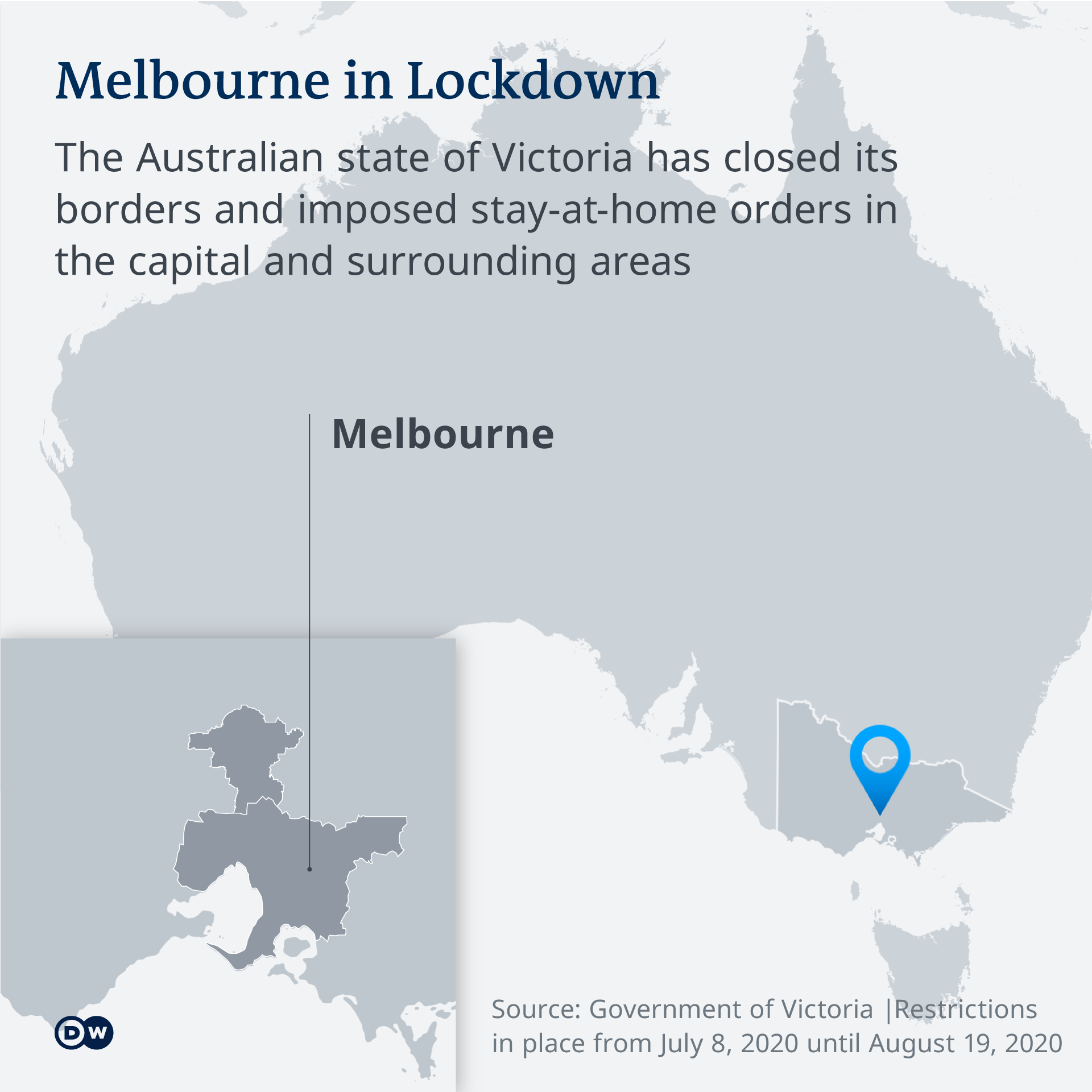 Melbourne Heads Into 6 Week Lockdown As Infections Spike News Dw 07 07 2020