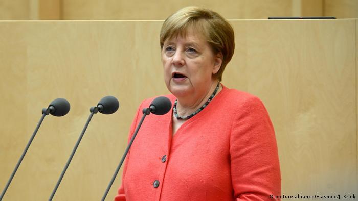 Bundesrat   Bundeskanzlerin Angela Merkel