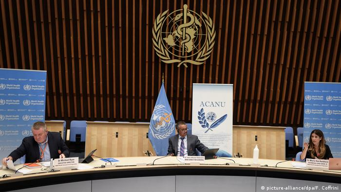 AS secara resmi menarik negaranya keluar dari WHO