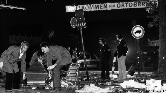 Oktoberfest attack aftermath in 1980
