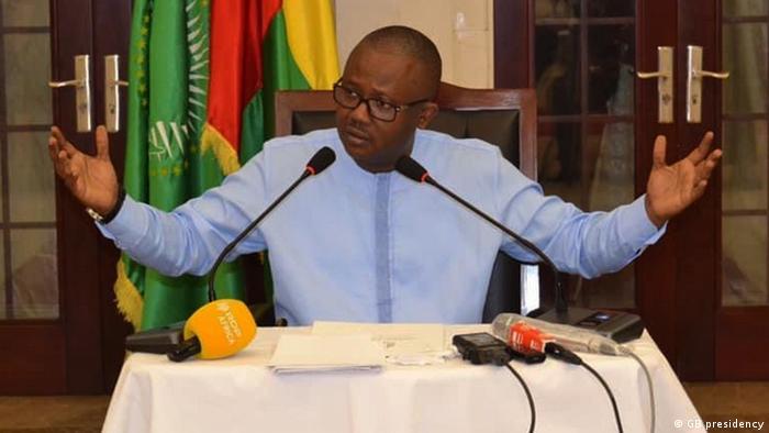 Guinea-Bissau Präsident Umaro Sissoco Embaló (GB presidency)