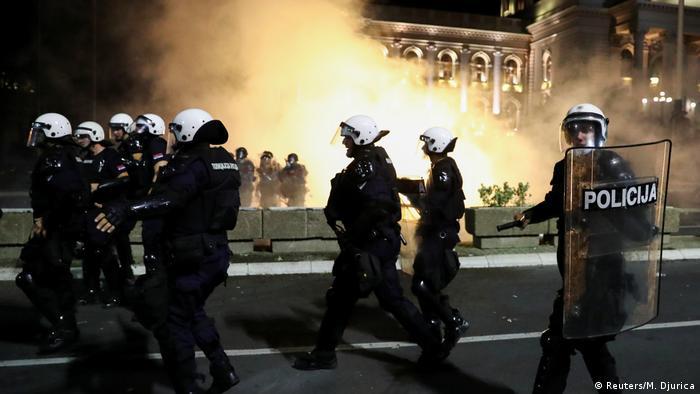 Полиция на улицах Белграда