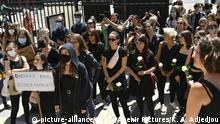 Frankreich Paris Protest gegen Nominierung der neuen Minister Darmanin und Dupond-Moretti